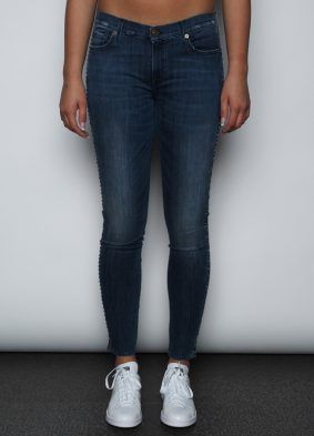 7 for all mankind the skinny with studs